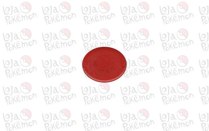 Marcador Vermelho em Ficha - 20 unidades