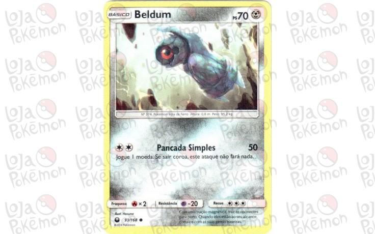 Beldum 93/168 - Tempestade Celestial