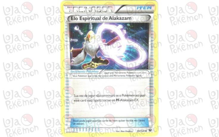 Elo Espiritual de Alakazam 90/124 - Fusão de Destinos