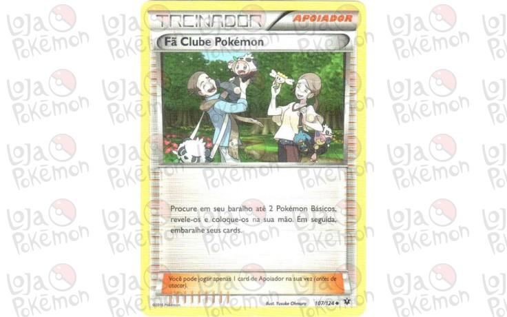 Fã Clube Pokémon 107/124 - Fusão de Destinos