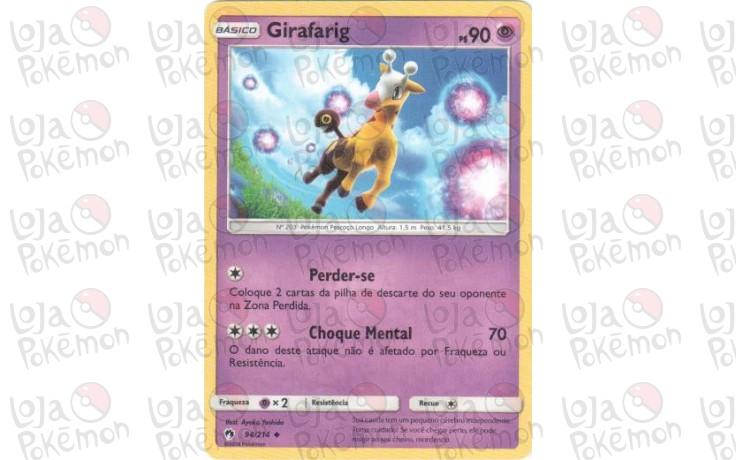 Girafarig 94/214 - Trovões Perdidos