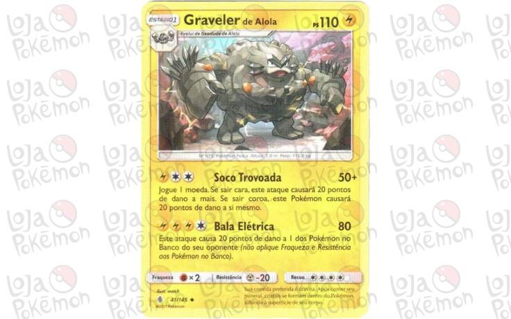 Graveler de Alola 41/145 - Guardiões Ascendentes