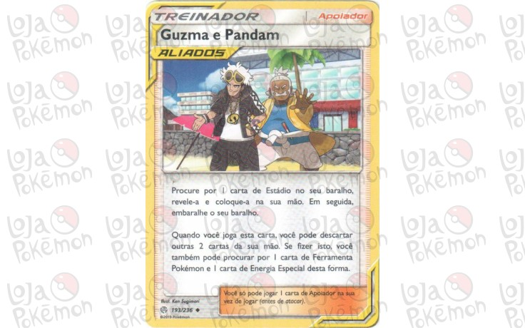 Guzma & Pandam 193/236 - Eclipse Cósmico