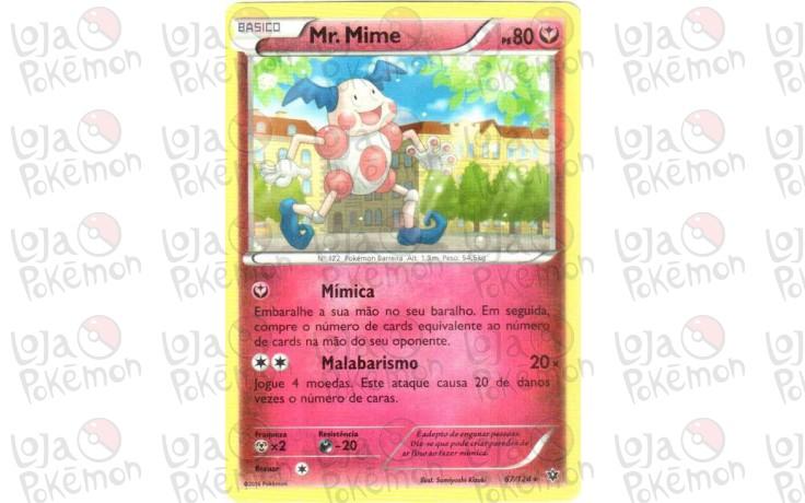 Mr. Mime 67/124 - Fusão de Destinos