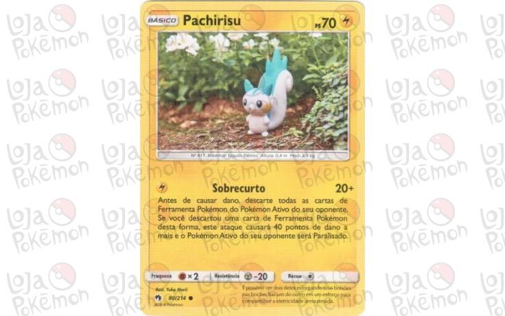 Pachirisu 80/214 - Trovões Perdidos