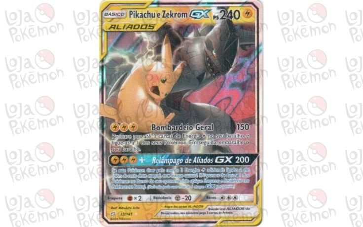 Pikachu & Zekrom 33/181 - União de Aliados