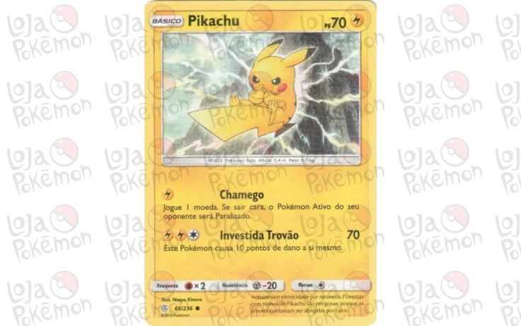 Pikachu 66/236 - Eclipse Cósmico