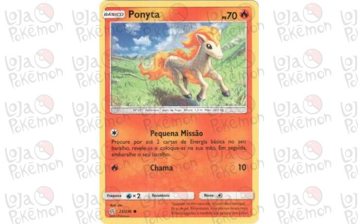 Ponyta 23/236 - Eclipse Cósmico
