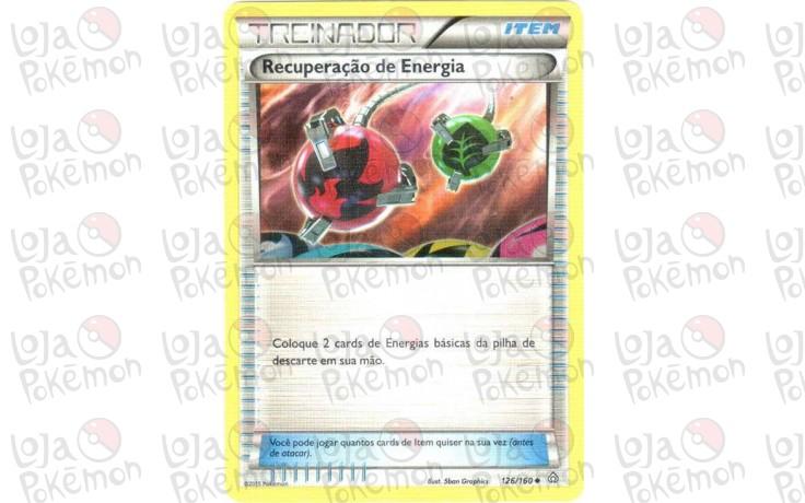 Recuperação de Energia 80/101 - Explosão de Plasma - Card Pokémon