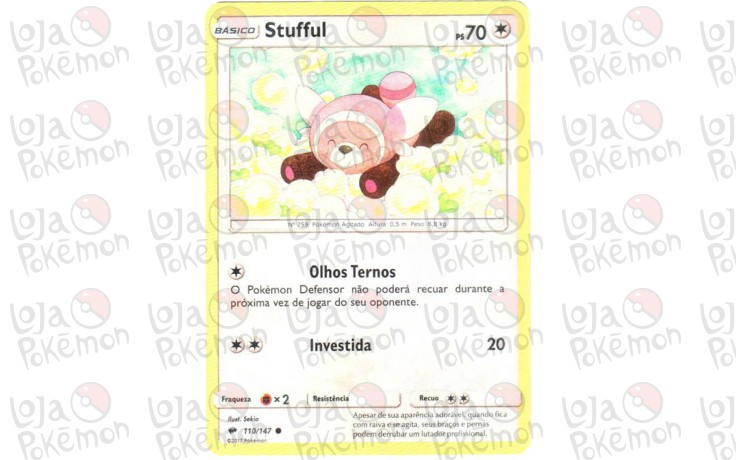 Stufful 110/147 - Sombras Ardentes