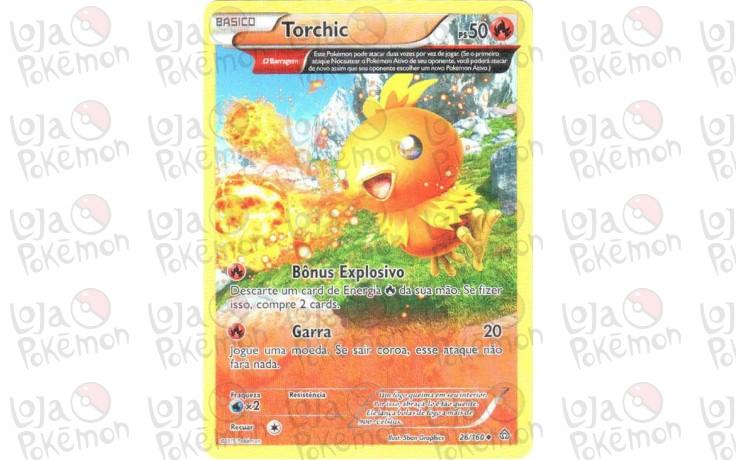 Torchic 26/160 - Conflito Primitivo