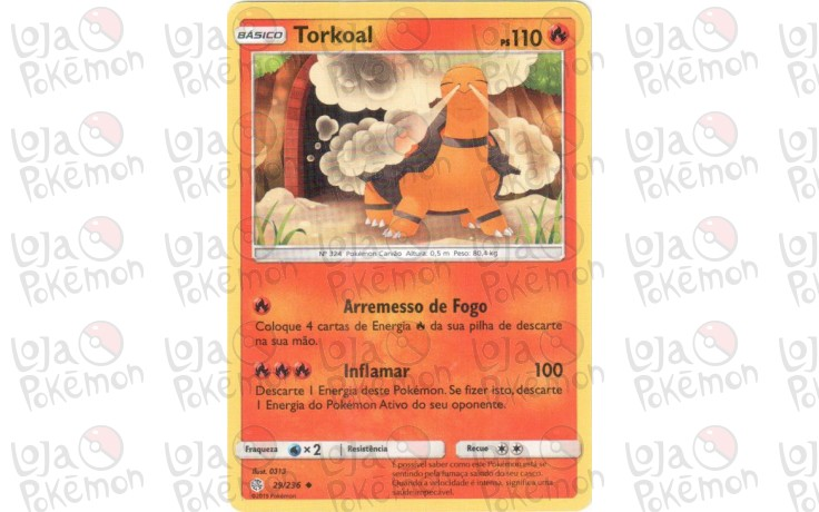 Torkoal 29/236 - Eclipse Cósmico