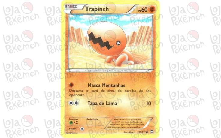 Trapinch 53/111 - Punhos Furiosos