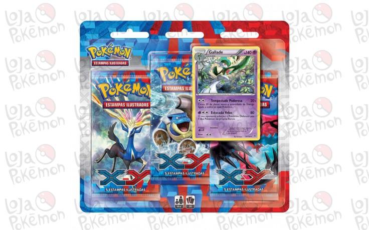 Triple Pack Pokémon - Coleção X Y - Gallade