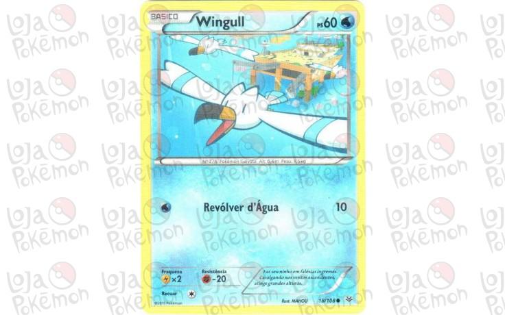 Wingull 18/108 - Céus Estrondosos