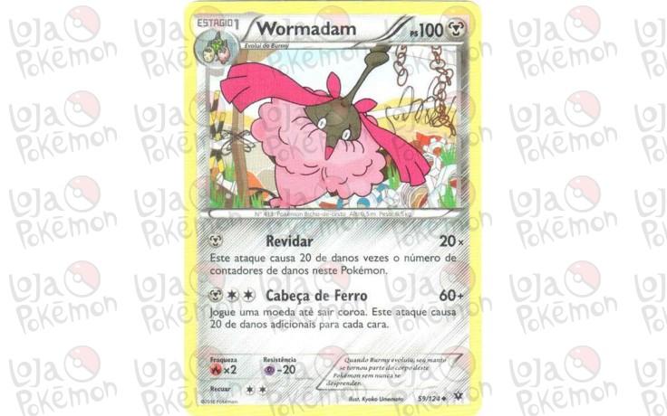 Wormadam 59/124 - Fusão de Destinos