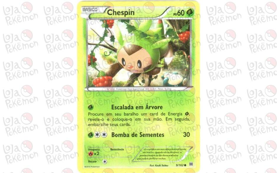 Chespin 9/162 - Turbo Revolução