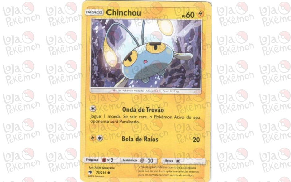 Chinchou 73/214 - Trovões Perdidos