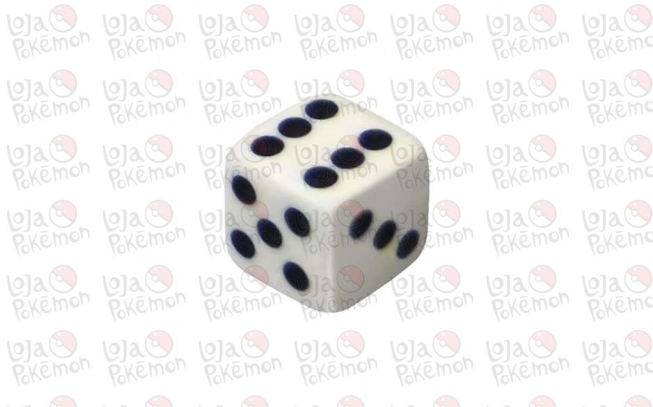 Dado de 6 lados 16x16mm - Branco