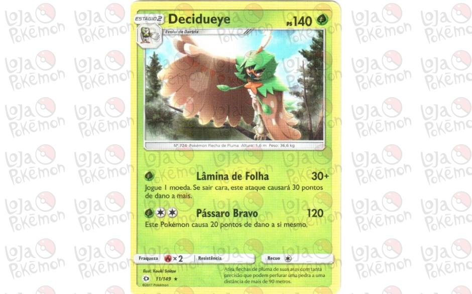 Decidueye 11/149 - Sol e Lua