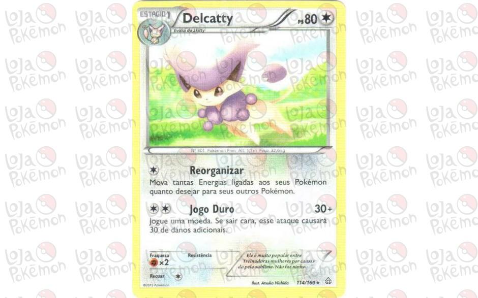 Delcatty 114/160 - Conflito Primitivo