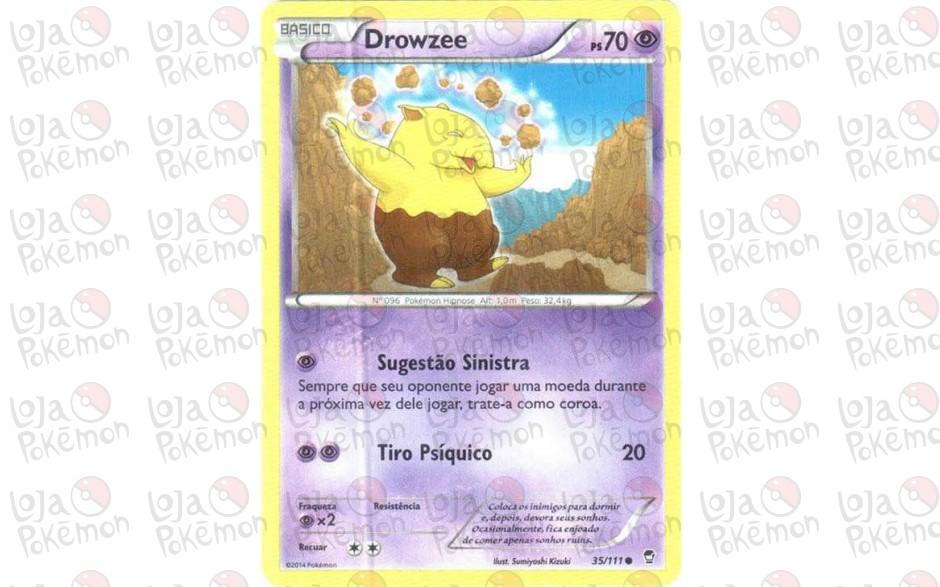 Drowzee 35/111 - Punhos Furiosos