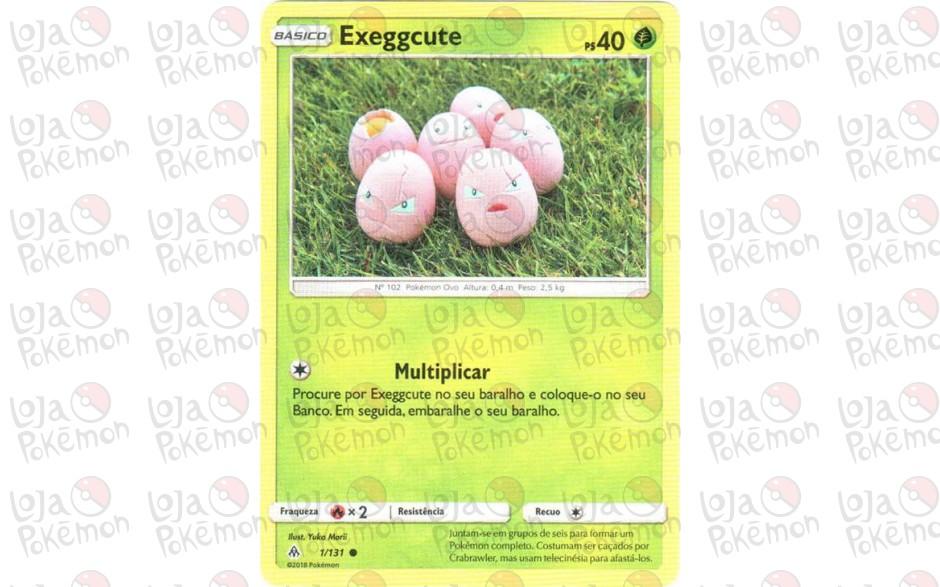 Exeggcute 1/131 - Luz Proibida
