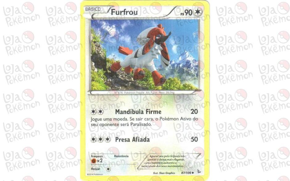 Furfrou 87/106 - Flash de Fogo