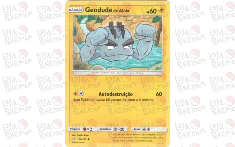 Geodude de Alola 34/181 - União de Aliados