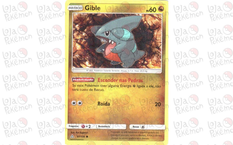 Gible 97/156 - Ultra Prisma