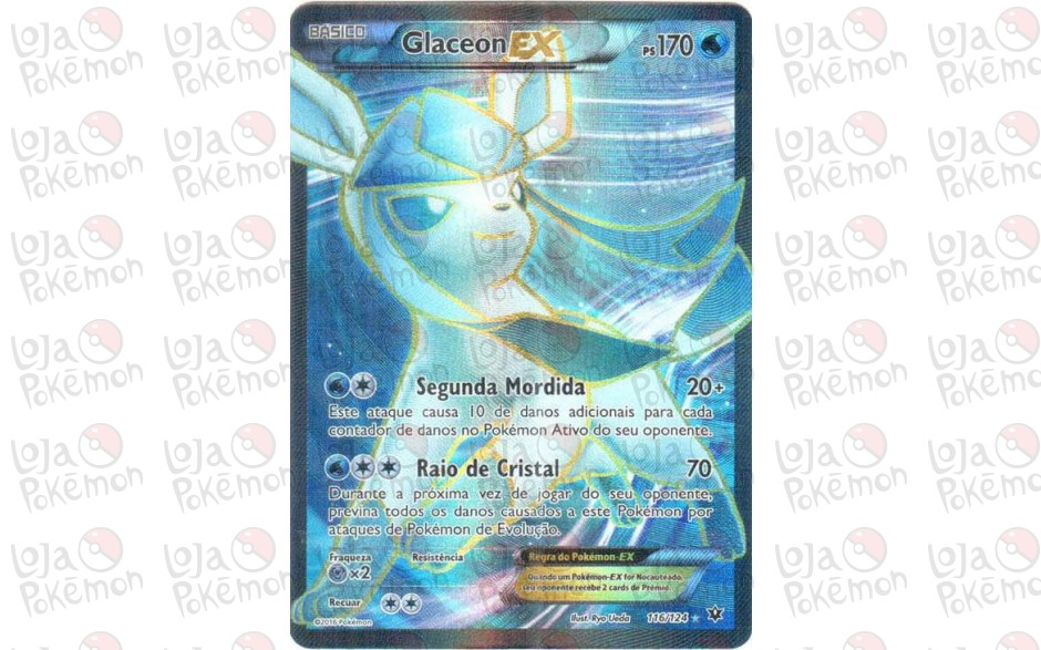 Glaceon EX 116/124 - Fusão de Destinos