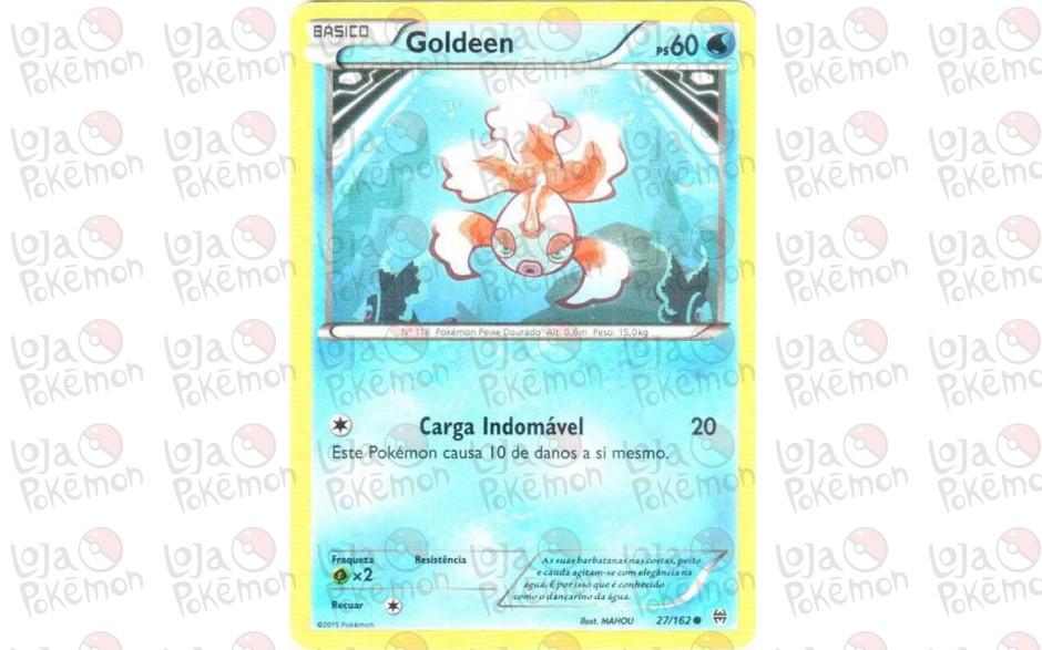 Goldeen 27/162 - Turbo Revolução