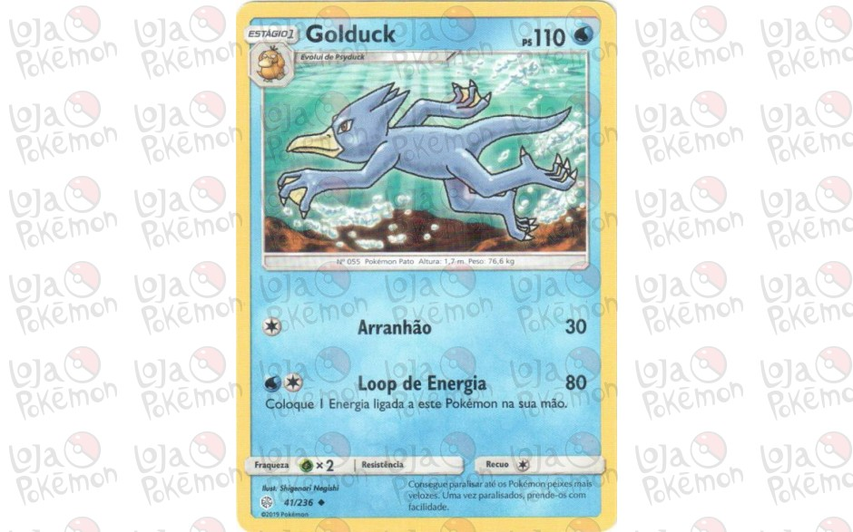 Golduck 41/236 - Eclipse Cósmico