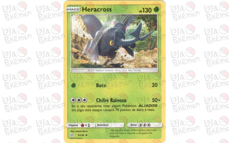 Heracross 9/236 - Eclipse Cósmico