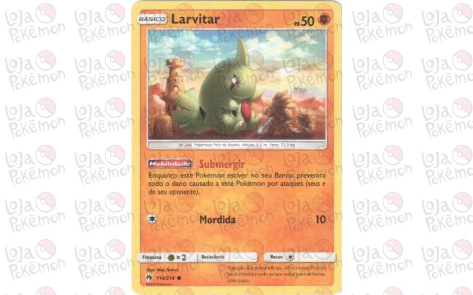 Larvitar 114/214 - Trovões Perdidos
