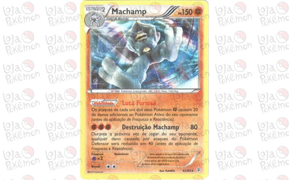 Machamp 42/83 - Gerações