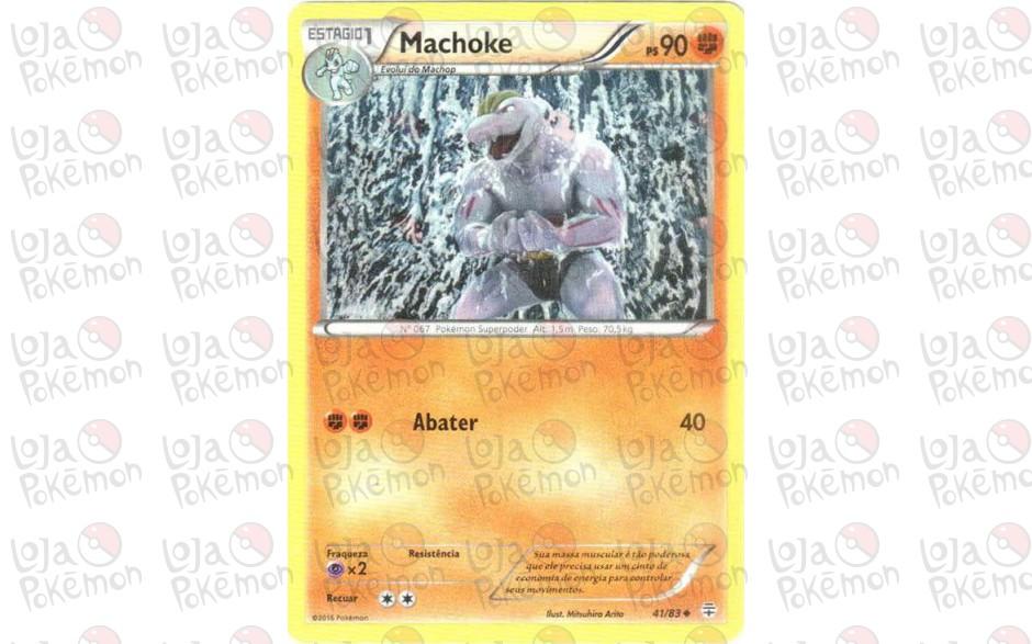 Machoke 41/83 - Gerações