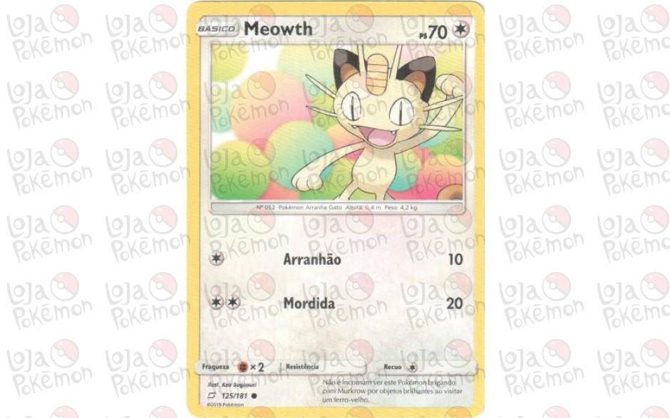 Meowth 125/181 - União de Aliados