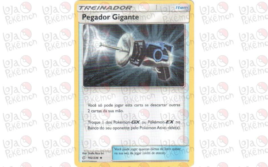 Pegador Gigante 192/236 - Eclipse Cósmico