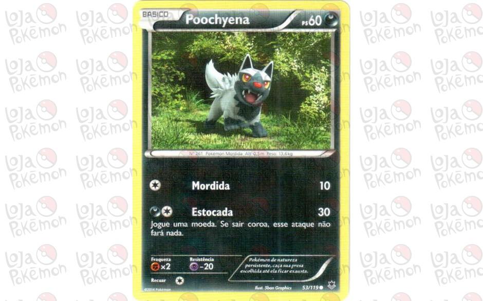 Poochyena 53/119 - Força Fantasma