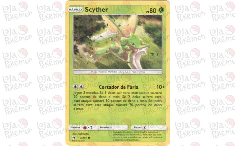 Scyther 3/214 - Trovões Perdidos