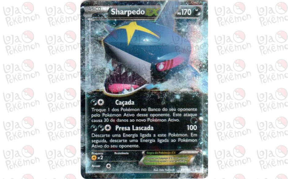 Sharpedo EX 91/160 - Conflito Primitivo