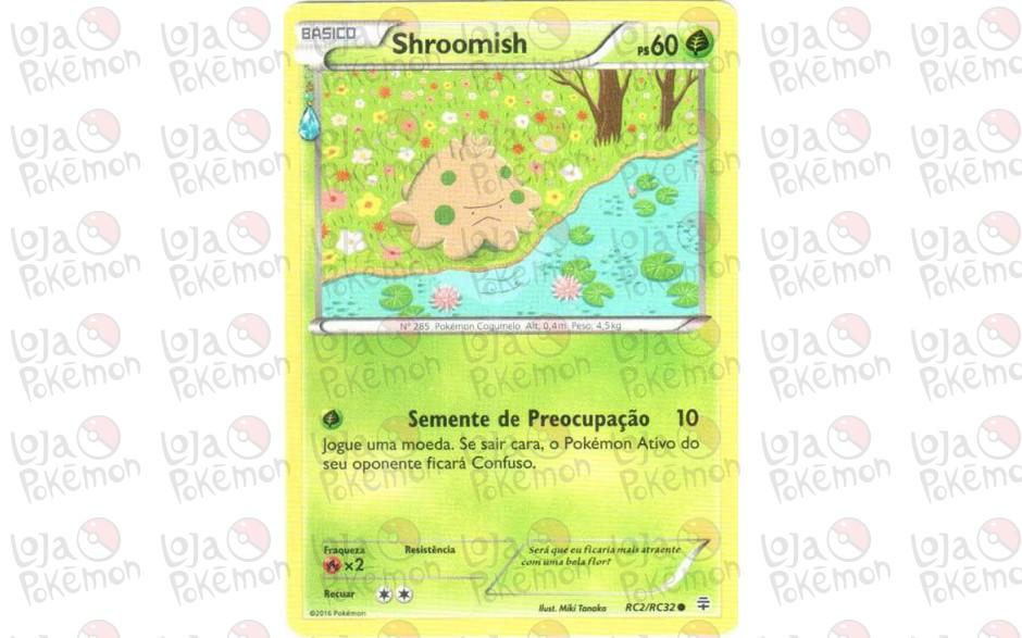 Shroomish RC2/RC32 - Gerações