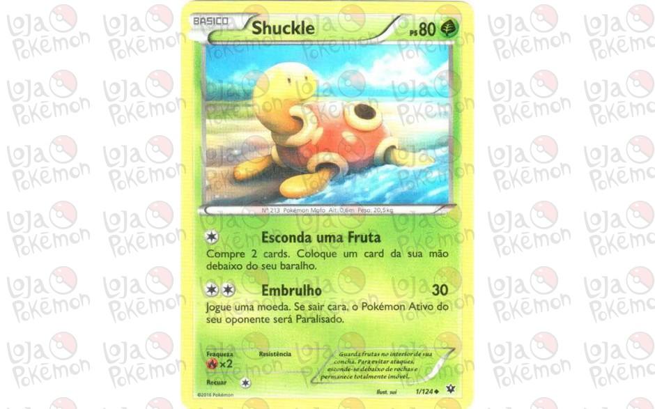 Shuckle 1/124 - Fusão de Destinos