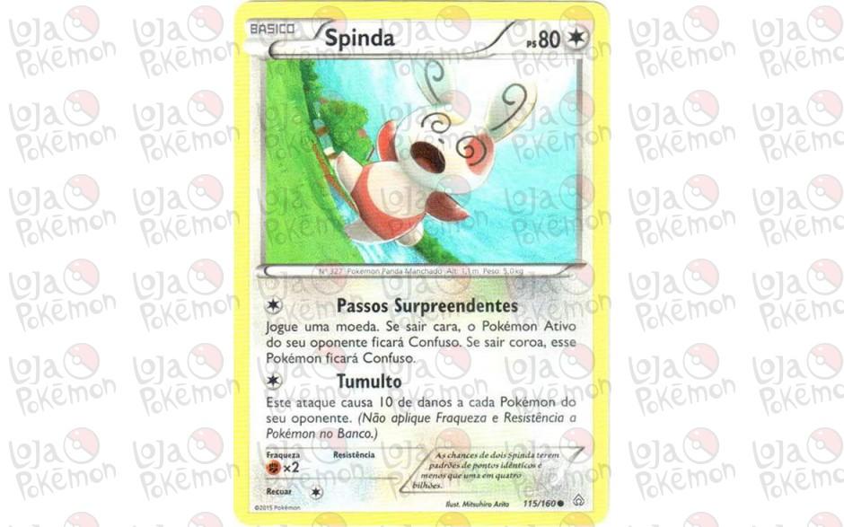 Spinda 115/160 - Conflito Primitivo