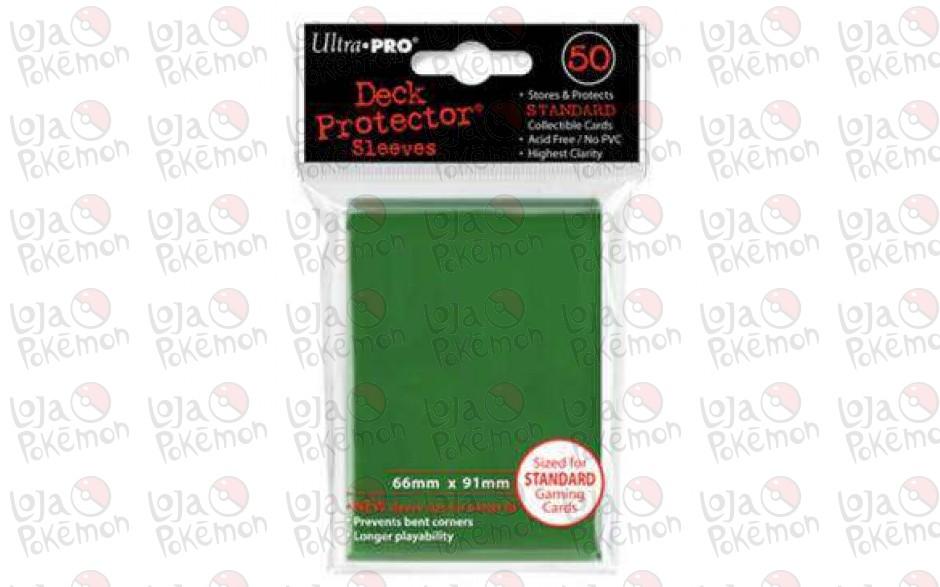Deck Protector Ultra-Pro Verde 66x91mm  - 50 Unidades