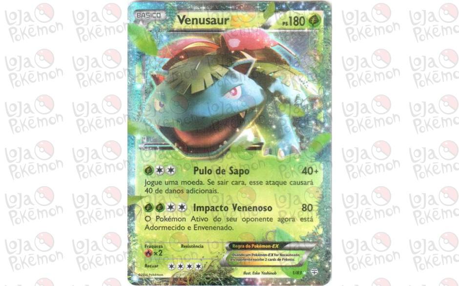 Venusaur EX 1/83 - Gerações