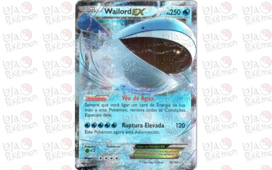 Wailord EX 38/160 - Conflito Primitivo