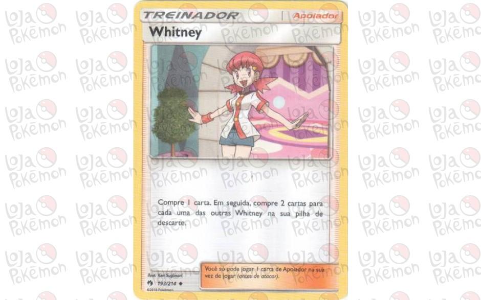 Whitney 193/214 - Trovões Perdidos