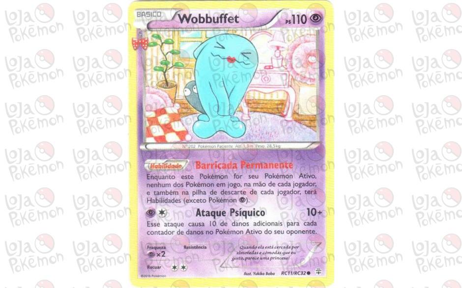 Wobbuffet RC11/RC32 - Gerações